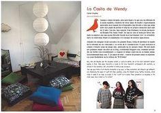 """Cute craft magazine, El Costurero. The craftroom of """"La Casita de Wendy"""""""