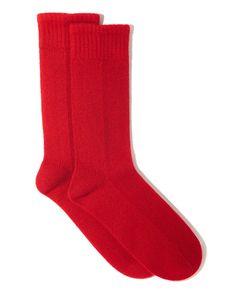 Naadam cashmere socks, $85.