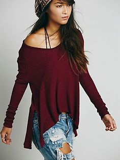 Free People We The Free Sunset Park Thermal