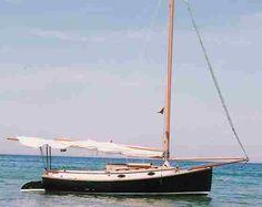 The classic American Catboat