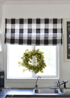 sew a diy roman shade, home decor, reupholster, window treatments, windows