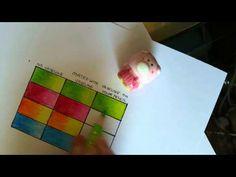 Colored Pencil Blending Technique Using Vaseline - YouTube