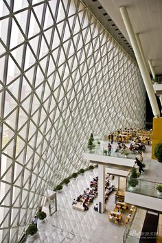 Inside the Shenzhen Library