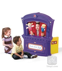 Puppet Theater   Role Play   by Step2