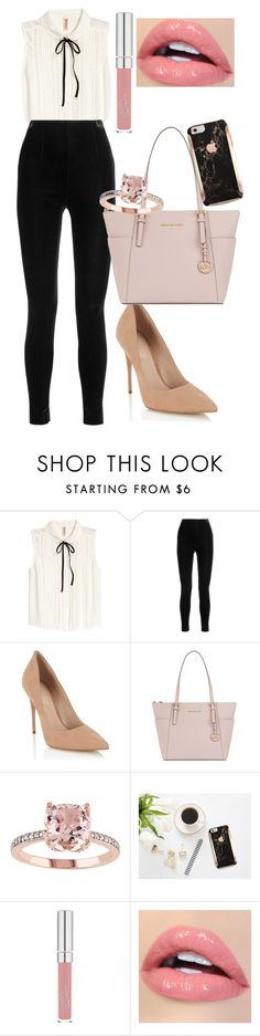 """""""Untitled #420"""" by dreamer3108 ❤ liked on Polyvore featuring Balmain, Lipsy and MICHAEL Michael Kors"""