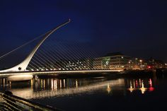Samuel Beckett Bridge Dublin, Ireland