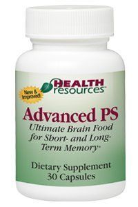 Advanced PS - Ultimate Brain Food (30 capsules) by Health Resources. For product info go to: https://all4babies.co.business/advanced-ps-ultimate-brain-food-30-capsules-by-health-resources/
