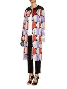 Tassel embroidered satin coat | Marco De Vincenzo | MATCHESFASHION.COM