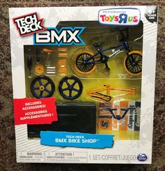 Tech Deck BMX Bike Shop with Accessories and Storage Container Toys R Us Bmx Bike Shop, Bmx Bikes, Brand Stickers, Tech Deck, Toys R Us, Toy Boxes, Storage Containers, Cute Baby Animals, Accessories Shop