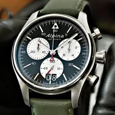 ALPINA Startimer Pilot Chronograph Grande Date