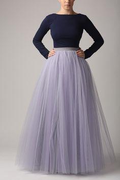 Petticoat & Unterrock - Tüllrock S031 MAXI individuelle Bestellung - ein Designerstück von Fanfaronada bei DaWanda