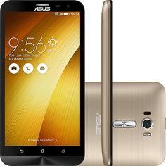 (Shoptime) Smartphone ASUS Zenfone 2 Laser Desbloqueado Dual Chip Android 5.0 Tela 5.5 ´ 16GB 4G 13MP - Dourado - de R$ 1415.9 por R$ 899.1…