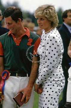 princess diana at smiths lawn polo 1980   Prince Charles and Princess Diana, Smith's Lawn Polo Field, Berkshire ...