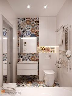Contemporary Bathrooms, Modern Bathroom, Small Bathroom, Small Toilet Room, Bathroom Interior Design, Interior Decorating, Bathroom Crafts, Toilet Design, Apartment Design