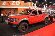 #Ford #Raptor quadcab at #SEMA 2012