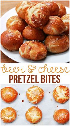 Here's What Happens When You Combine Beer, Cheese, And Pretzels ( I don't think these are 'reduced guilt' but they look super tasty!!)