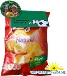 Chips voor voetbal kampioenen