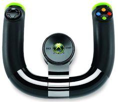 Microsoft Wireless Speed Wheel XBOX 360.    Mais Informações:  http://qb2.me/CTRa
