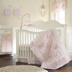 Laura Ashley - Bella Butterfly 4 Piece Crib Set