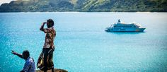 Book Now and Save - DreamTrips : A Week at Sea in Fiji White Sand Beach, Ultimate Travel, Flora And Fauna, South Pacific, Fiji, Exotic, Surfing, To Go, Waves