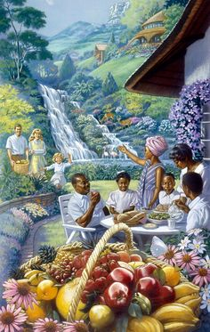 This is an authorized Web site of Jehovah's Witnesses. It is a research tool for publications in various languages produced by Jehovah's Witnesses. Heaven Pictures, Paradise Pictures, Jesus Pictures, Life In Paradise, Paradise On Earth, Jesus Christ Images, Jesus Art, Jw Bible, Bible Art