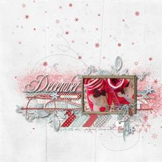 December Daily 2012 Cover - Digital Scrapbooking Ideas - DesignerDigitals
