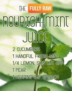 The Nourish-Mint Juice