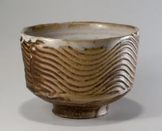 Wood fired Yunomi Seabowl Tea Bowl by Paul by PotteryParkStore