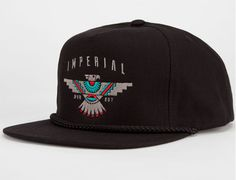 Raven Golf Snapback Hat By IMPERIAL MOTION