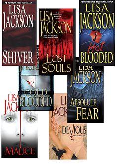 Lisa Jackson-Suspensful!