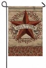 Flag-Garden-Barnstar & Berries (13 x 18)
