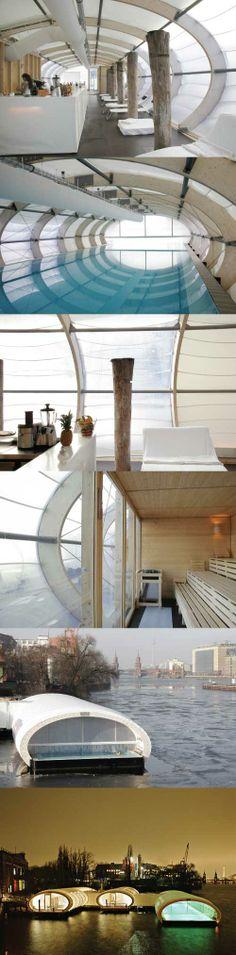 Badeschiff, Berlin, Germany by Wilk-Salinas Architekten