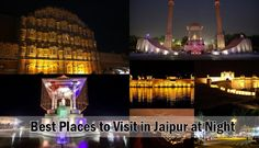 Find out the best 7 places to visit in Jaipur to experience nightlife. Jaipur points of interests for couples at night for a beautiful time with Jaipur nightlife.