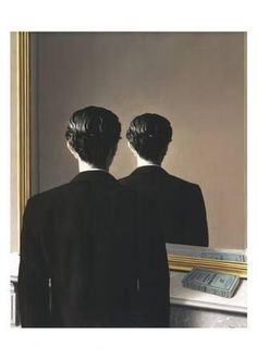 Magritte exposition opens tomorrow at the Art Institute. René Magritte (Belgian, Not to be Reproduced (La Reproduction interdite), Oil on canvas; 81 × 65 cm × 25 in. Salvador Dali, Conceptual Art, Surreal Art, Rene Magritte Kunst, Artist Magritte, Photo Museum, Wassily Kandinsky, Magritte Paintings, Tableaux Vivants