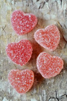 these candy hearts Candy Hearts, Jelly Hearts, Paper Hearts, Heart In Nature, Heart Art, I Love Heart, Happy Heart, Vegan Cuts, Vegan Candies