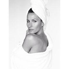 Gisele Bündchen for Mario Testino towel series