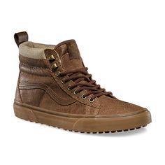 Vans SK8-Hi MTE brown herringbone Colección De Zapatos 719765118f0