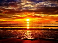 Winter sunrise: Alamitos beach -Long Beach, CA