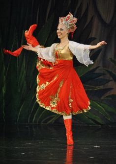 Moscow Ballet's Great Russian Nutcracker - Russian variation @Suade Trinity