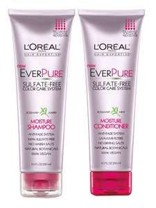 L'Oreal EverPure Mint shampoo and conditioner...I've been using this and my hair is so soft! This is the best drugstore product I have ever purchased .....