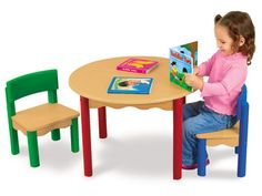 Toddler-Tough Table & Chairs Set at Lakeshore Learning