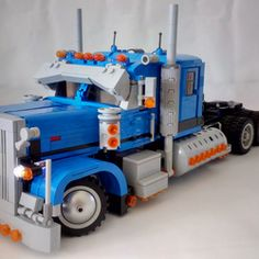 The mighty Peterbilt 389 is an icon on the highway and an instantly familiar classic. Maybe not known to everyone by name like many of the real life vehicles Lego has turned into sets, the Peterbilt 389 is still one of the most iconic vehicles on the road. This project recreates the 389 in a strong and compact 16 stud wide build but still has full power functions to enable remote control, these include; -Working headlights -Steering powered by 1 PF Servo Motor -6x2 Drive powered by 1 PF…