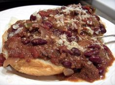 Diane s Crock Pot Chili Con Carne from Food.com:   This is not a recipe I have tried, but comes from Diane Deiber from Santa Cruz, California. I would be tempted to cook it longer, but I am not an experienced crock pot user.