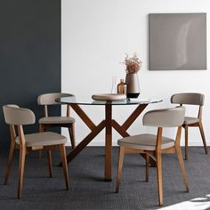 Calligaris Mikado table and chairs - available from Furniture Village (U.K.)