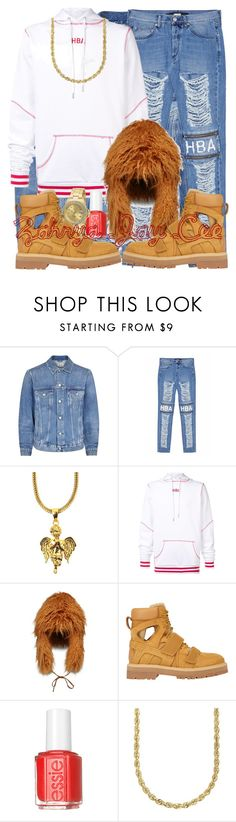 """""""I'm Not Leaving You... Tonight"""" by sphereoflightmovement ❤ liked on Polyvore featuring Acne Studios, Hood by Air, The Gold Gods, STELLA McCARTNEY, Essie, Lord & Taylor, Invicta, men's fashion and menswear"""