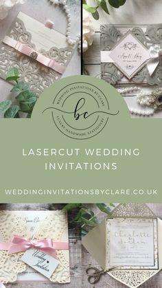 Pocketfold Invitations, Laser Cut Invitation, Invitation Envelopes, Dusky Pink Weddings, Alternative Wedding Inspiration, Bespoke Wedding Invitations, Colour Schemes, Laser Cutting, Reception