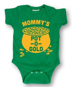 This Kelly Green 'Pot O' Gold' Bodysuit - Infant is perfect! #zulilyfinds