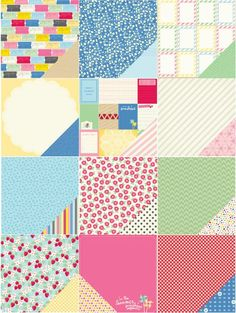 How cute is this?  The new Mayberry line from American Crafts! AC_Mayberry_AllPaper