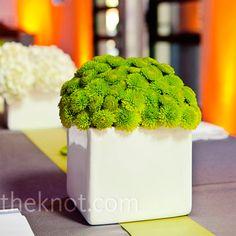 Modern Wedding Floral Centerpieces