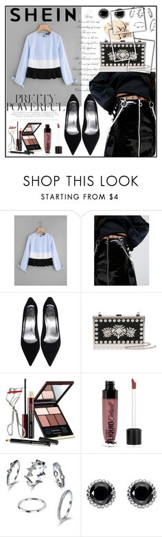 """""""Bow-Tie-Cuff-Cut-And-Sew-Top"""" by sabina-mehic123 ❤ liked on Polyvore featuring The Ragged Priest, Manolo Blahnik, Kevyn Aucoin, Wet n Wild and Thomas Sabo"""